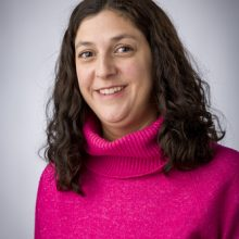 Laura Matrajt portrait, January 14, 2020, at the Fred Hutchinson Cancer Research Center in Seattle, Washington.